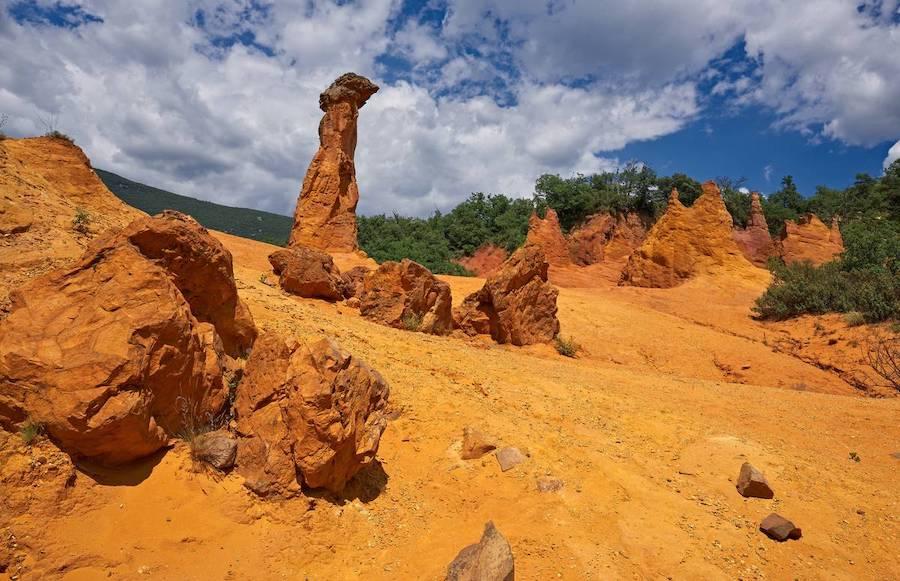 Mines d'ocres (Luberon)